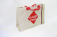 Leader price pp woven shopping bag